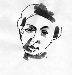 Rosa Luxemburgo, ilustración de John Berge